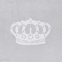 Preproga s krono (siva)