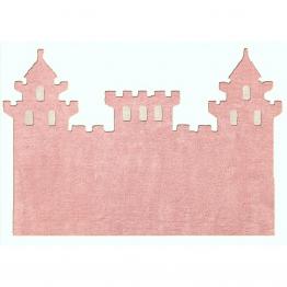 pravljično kraljestvo v roza preprogi grad