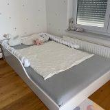 Nizka postelja po načelu montessori